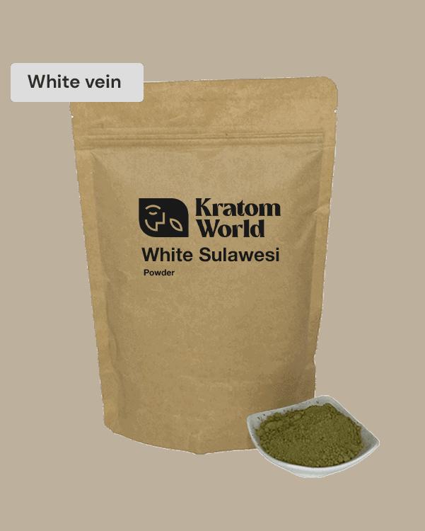 White Sulawesi kratom powder