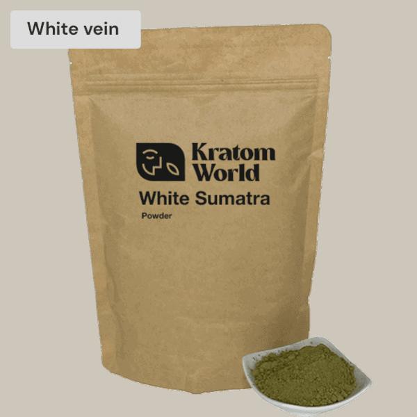 White Sumatra kratom powder