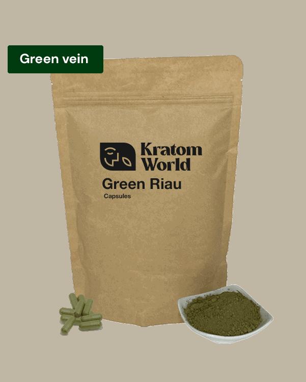 green riau poeder