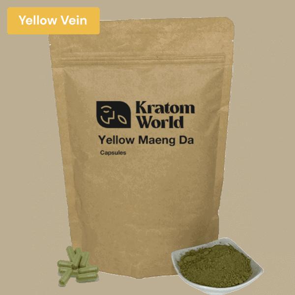 yellow maeng da capsules