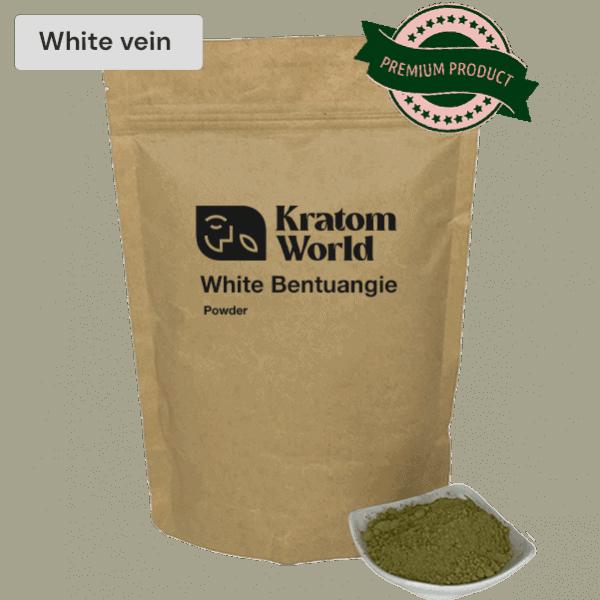 white bentuangie powder