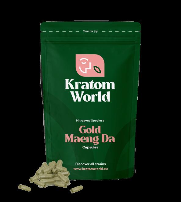 Gold Maeng Da Capsules