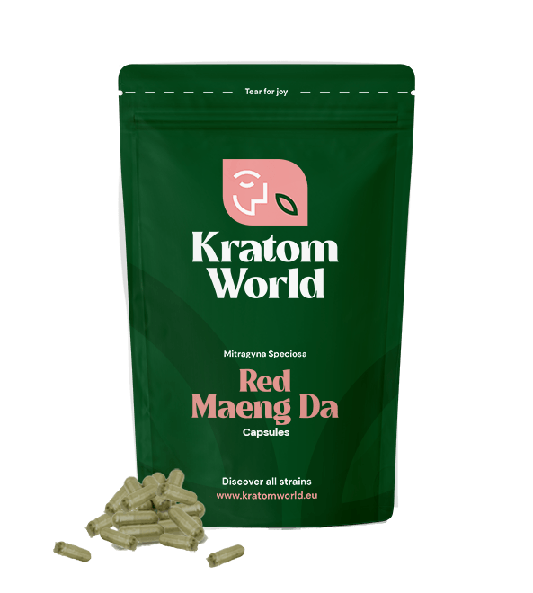 Red Maeng Da Capsules